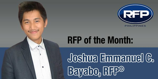 RFP of the Month: Joshua Emmanuel C. Bayabo, RFP